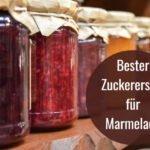 zuckerersatz fuer marmelade
