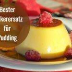 bester zuckerersatz fuer pudding